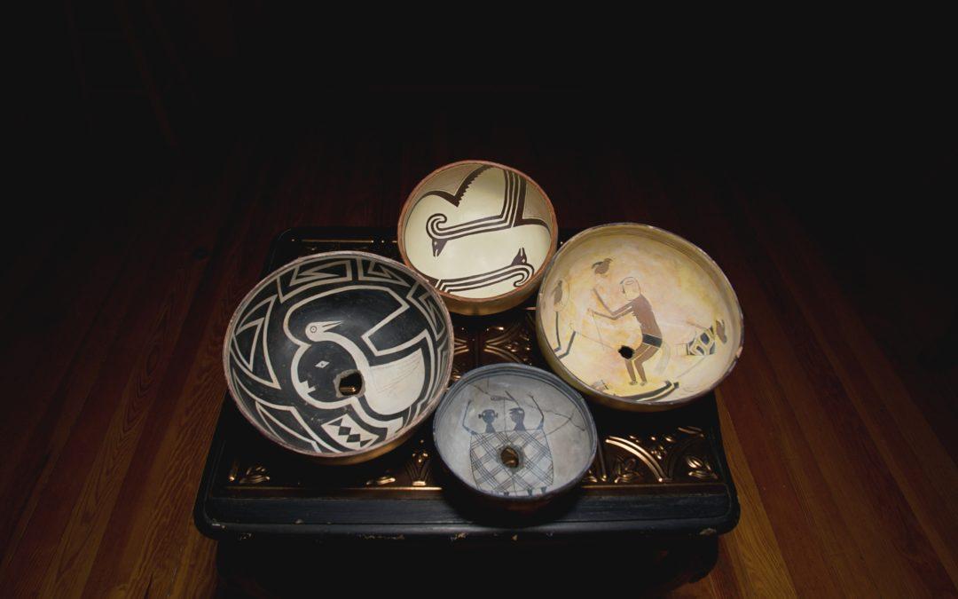 Replica Bowls, Mimbres Culture Heritage Site